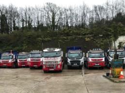 Tipper haulage